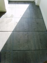 After Picture - Grout Colour changed on car showroom floor by Tile Doctor Lancaster
