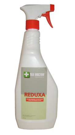 Tile Doctor Reduxa for Stain Removal from calcerous stone