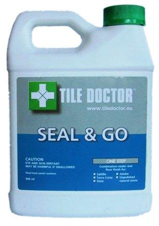 Tile Doctor Seal & Go Sealer for Quarry Tile, Sandstone, Victorian Tile, Slate and Terracotta