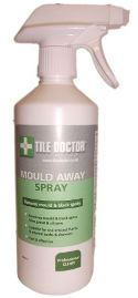 Tile Doctor Mould Away is a Fast effective formula for removing mould off Silicone and Grout